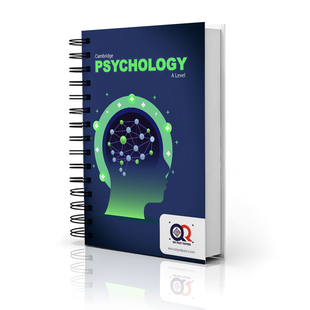 IGCSE 9990 QR Dynamic Papers Psychology al Cambridge paper 1